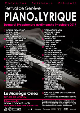 Piano & Lyrique